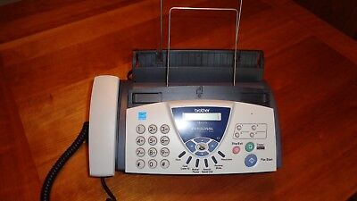 Brother FAX-575 Personal Plain Paper Fax Machine, Phone and Copier