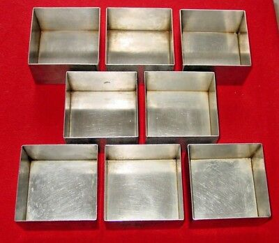 Culinaire Stainless Steel Bread baking pan - loaf pan - SSPAN-03  lot of 8