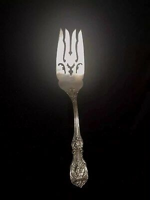 REED & BARTON FRANCIS I Sterling Silver Pierced Serving Fork