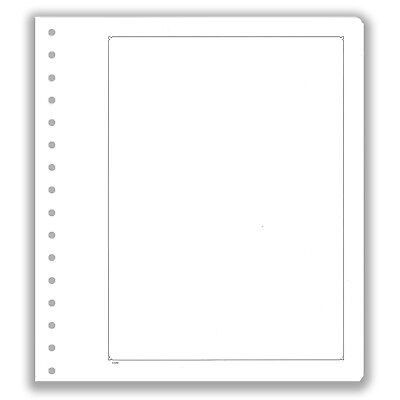 Pack of 10 KaBe Blank Sheets Extra Strong Album Card With Black Borderline #31