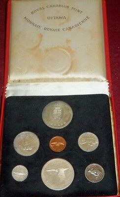 1967 Canada Confederation Centennial Silver Proof Set Plus Sterling Silver Medal