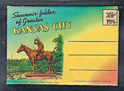 Nmstampsnstuff: Kansas City - Vintage Fold-Out- 18 Views - Unposted