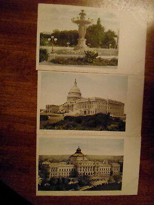 3, Pre 1907, Undivided Back, UDB, Washington, DC; Capitol, Library of Congress+