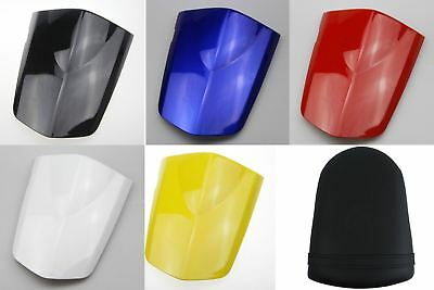 3pieces Leather Rear seat cover Cowl fairings For SUZUKI GSX-R 1000 2003-2004 K3