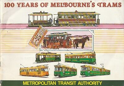 Melbourne's Trams 1881-1985 100 Years History Historical photos BOOK