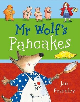 Mr Wolf's pancakes by Jan Fearnley (Paperback)