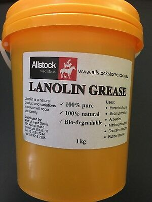 Lanolin Grease 1kg for Horses