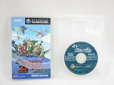 Game Cube THE LEGEND OF ZELDA Takt of Wind No title Cover cbbn Nintendo gc