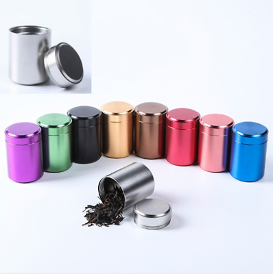 Large Airtight Smell Proof Aluminum Herb Container Metal Smoke Holder Case