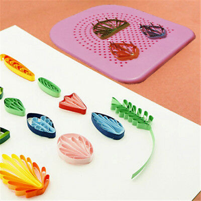 Full Kit Quilling Board DIY Paper Crafts Handmade Tool LG