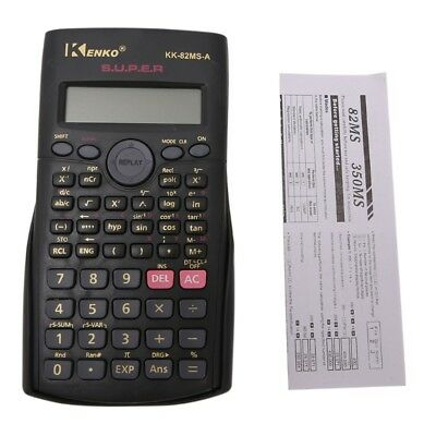 Student Multi-Function 2-Line Display 12 Digit Electronic Scientific Calculator