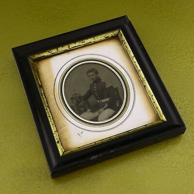 Daguerreotype or Ambrotype photography 1852 56th west essex  56th ? soldier ☆☆☆