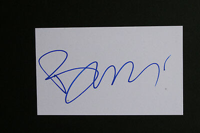 "BOY GEORGE signed card 6x4"" - Genuine Autograph - CULTURE CLUB"