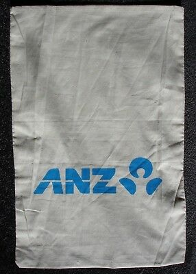 ANZ Bank Calico Coin Bag