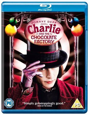 Charlie And The Chocolate Factory [Blu-ray] [2005] [Region Free] -  CD S0VG The