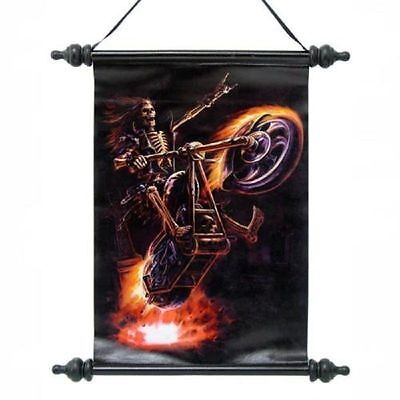 "Anne Stokes Scroll ""hell Rider Scroll"""