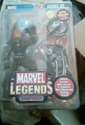 "Marvel Legends Ghost Rider 6"" Action Figure, MOC, 2004, ToyBiz"