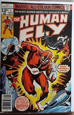 The Human Fly #1 To # 6 ( 6 Issue Run ) Marvel Comics 1977 ( Vg+/fn-)