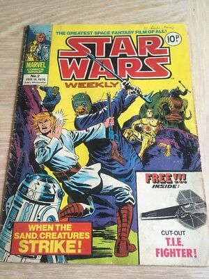 Star Wars Weekly. Issue 2
