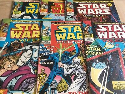Star Wars Weekly. Issues 4-9