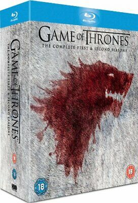 Game of Thrones - Season 1-2 Complete [Blu-ray] [2013] [Region Free] -  CD 0GVG