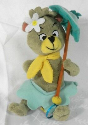 Cindy Bear from Yogi Stuffed Animal Plush Hanna Barbera 9""