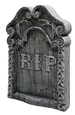 """30"""" RIP Tombstone GRAVE YARD CEMETERY OUTDOOR HALLOWEEN DECOR PROP HAUNTED HOUSE"""