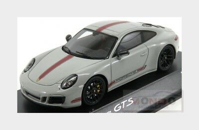 Porsche 911 991-2 Carrera Gts Coupe 2015 Grey Red SPARK 1:43 WAX02020055 Model