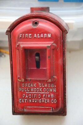 Fire Alarm Box from Pacific  Fire Extinguiser Company  era about 1950 or Earler