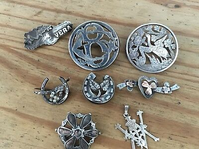 Antique and Vintage Solid Silver Jewellery