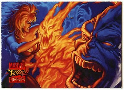 Counterattack #67 X-Men 2099:Oasis 1997 Comic Images Trade Card (C209A)