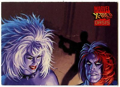 Mutant Hunt #19 X-Men 2099:Oasis 1997 Comic Images Trade Card (C209A)