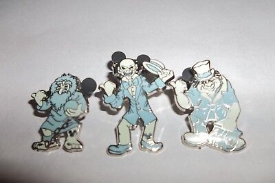disney pins-hauted mansion-hitchhikers