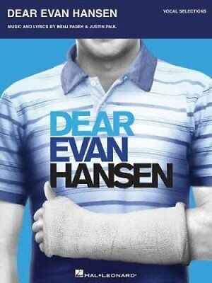 Dear Evan Hansen Vocal Selections by Benj Pasek 9781495091674 (Paperback, 2017)