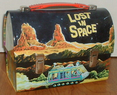 Lost In Space Tv Series Reproduction Dome Top Lunch Box Mint Condition Free Ship