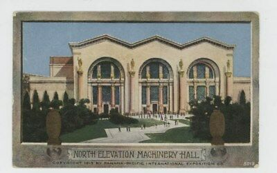 Mr Fancy Cancel Unused Pan Pacific Expo North Elevation Machinery Hall  #340