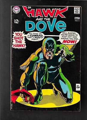 The Hawk And The Dove 5 1968 Gil Kane very good - fine NO STOCK PHOTO