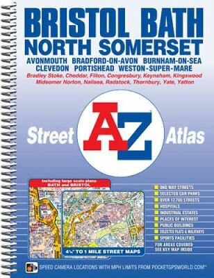 Bristol, Bath & North Somerset Street Atlas 9781782570653 (Spiral bound, 2015)
