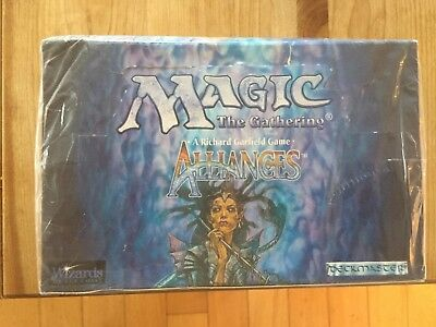 Magic the Gathering Alliances Booster Box-Factory Sealed