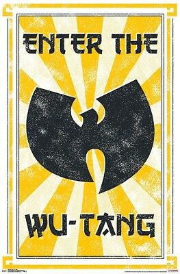 WU-TANG CLAN - ENTER POSTER - 22x34 - MUSIC 16656