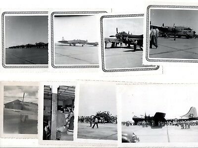 8 photos JAMES CONNALLY AIR FORCE BASE Armed Forces Day 1951 Texas aviation USAF