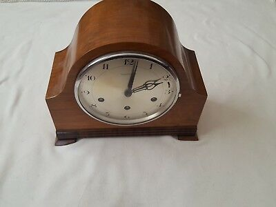 Wm Lister and Sons Ltd Mantle Clock wind up chimes 3 different Working order.