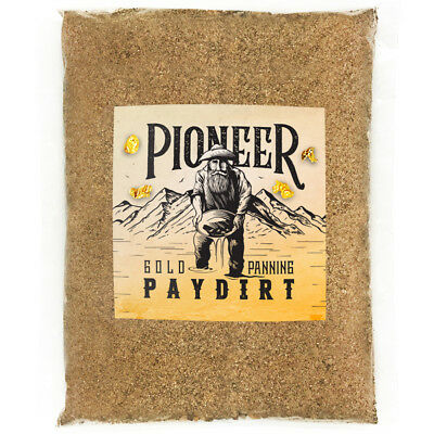 Pioneer RICH GOLD NUGGET PAYDIRT Unsearched and Guaranteed Added GOLD! Panning