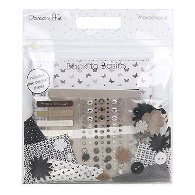 Dovecraft Back to Basics Goody bag – monocromatico, nero