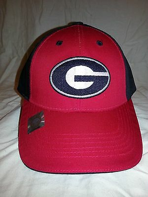 067bacd194d Captivating Headgear Red Black University of Georgia Bulldogs Cap Hat NCAA  NWT