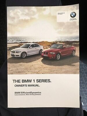 BMW 1 Series owner manual without iDrive