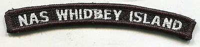 US Navy Naval Air Station Whidbey Island (NAS WHIDBEY ISLAND) Patch Tab