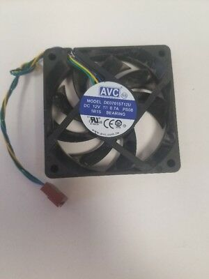 AVC 120mm PWM PC Computer Case Fan 4 Pin Cooling Quiet Cooler DC 12V 0.39A F19
