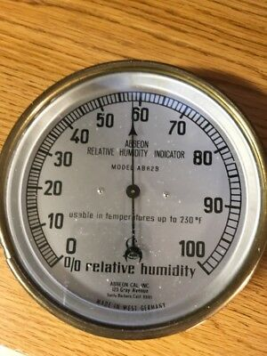 Vintage Brass, Abbeon Relative Humidity Indicator...(Nice Condition)