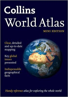 Collins World Atlas: Mini Edition (Collins World Atlases) Paperback Book The